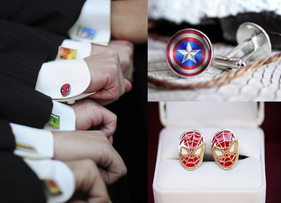 botoes de super herois