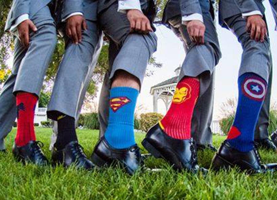 meias de super herois