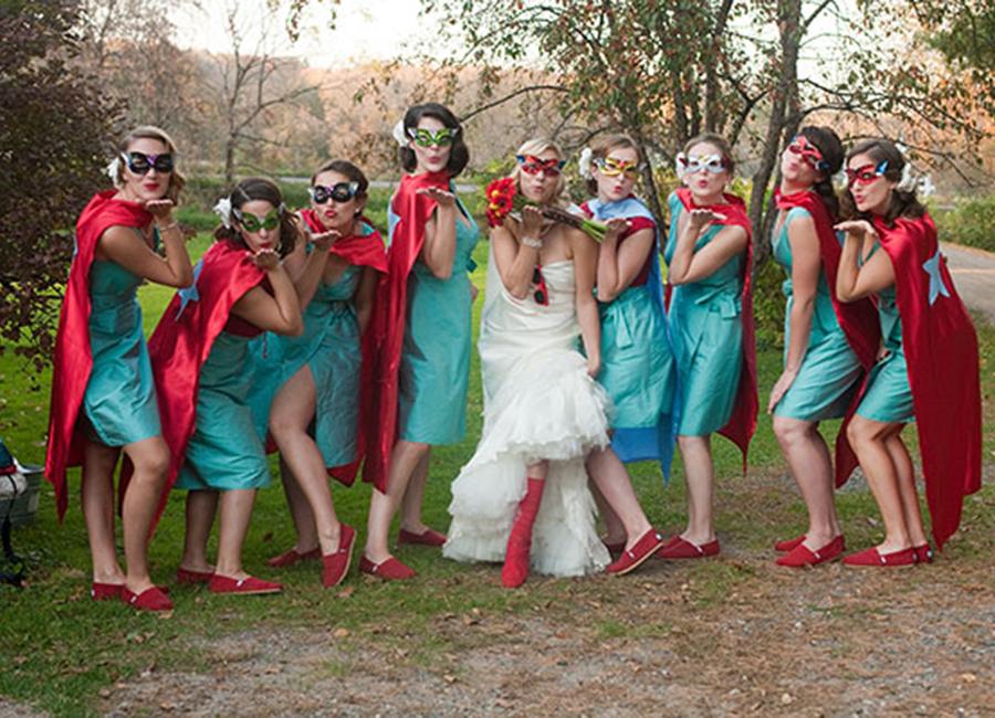 superherois casamentos