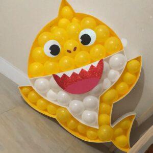 Mosaico de Balão Baby Shark