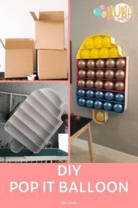 Como Fazer Pop It para Decoração de Festa - BuBa DIY